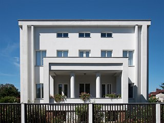 Vila Václava Tesaře v Čechově ulici v Hradci Králové