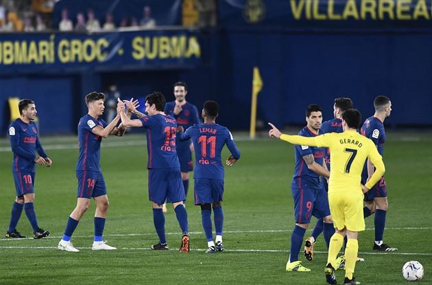 Barcelona porazila Sevillu, řádil Messi. Atlético vyhrálo a drží si náskok