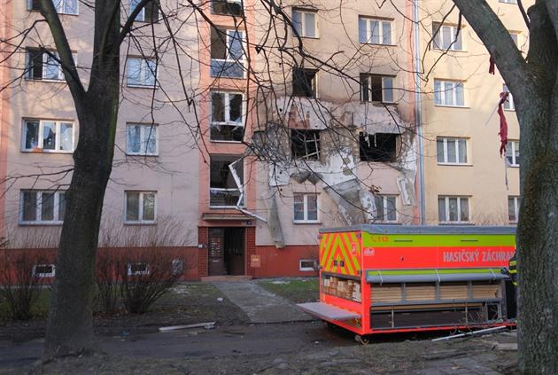 Výbuch v Ostravě těžce popálil muže, v domě se podle svědků vařily drogy