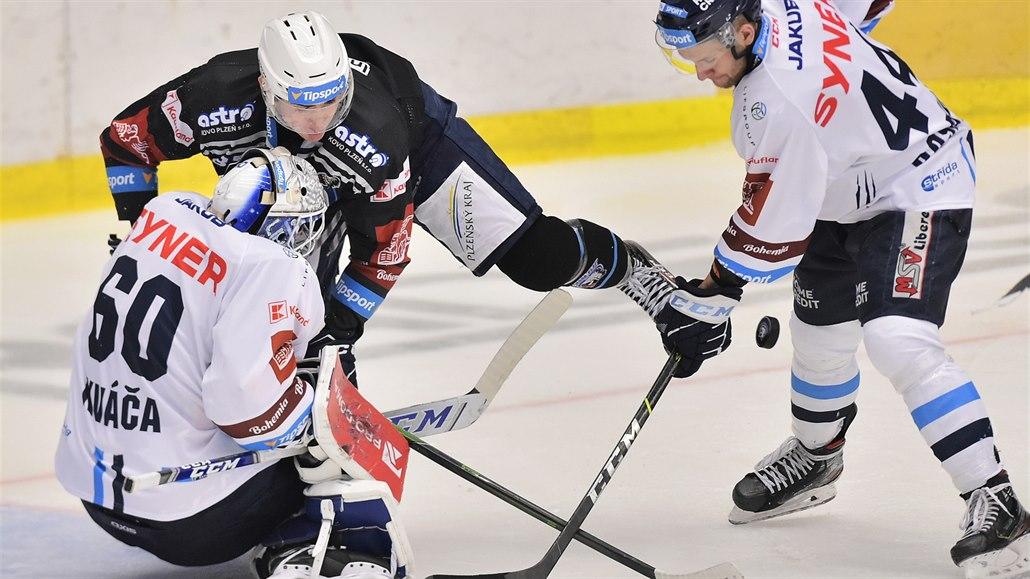 Plzeň prolomila trudnou sérii, doma porazila Liberec po nájezdech