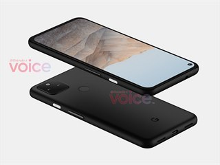 Uniklá podoba smartphonu Pixel 5a