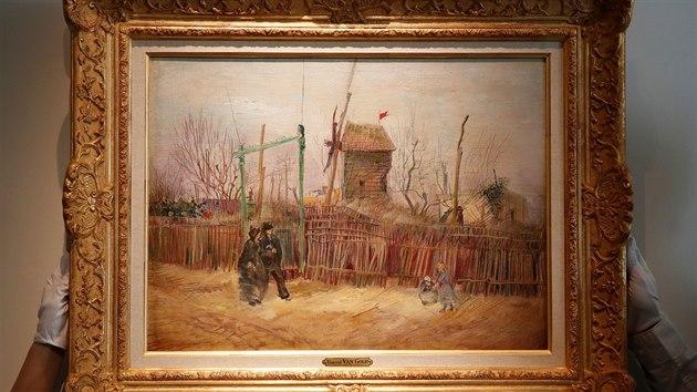 Obraz van Gogha bude poprvé na veřejnosti. Přes 100 let byl ukrytý