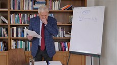 Václav Klaus prokašlal svou poslední přednášku