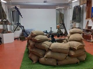 Expozice se nachází v bývalém krytu civilní obrany v chomutovské Havlíčkově...