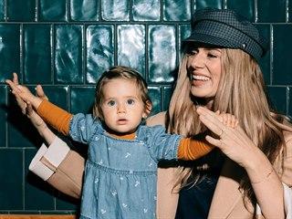Nikol Moravcová s dcerou