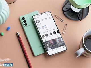Designový koncept Samsungu Galaxy S21 FE