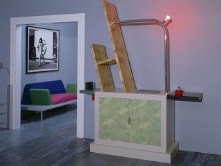 v roce 1982 si módní guru Karl Lagerfeld nechal svůj byt v Monte Carlu zařídit...