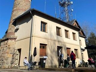 Rozhledna Krkavec u Plzně je oblíbeným turistickým místem.