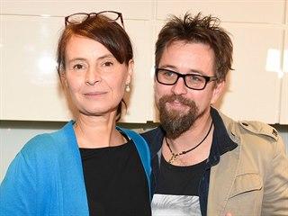 Lenka Dolanská Vlasáková a Jan Dolanský (Praha, 5. prosince 2020)