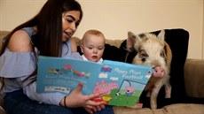 Místo psa pořídila matka synovi živé prasátko Peppa