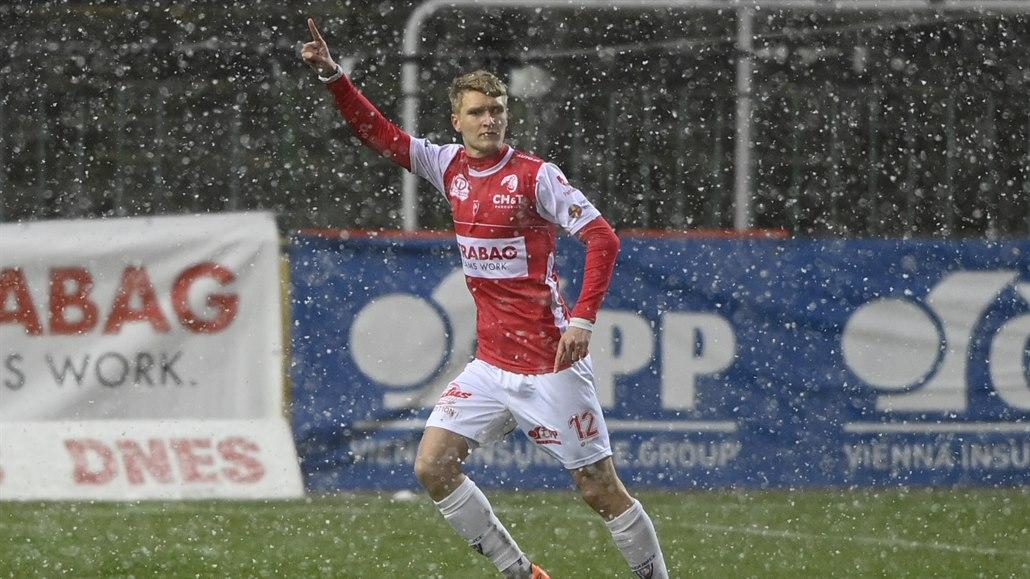 Pardubice - Boleslav 2:2, domácí dvakrát vedli, hostům trefil bod v závěru Takács
