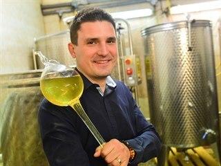 Jeden ze spolumajitelů uherskobrodského vinařství Juřeník Žďárský Robin Juřeník