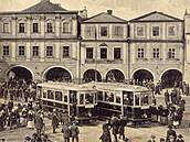 Ke konci tramvajového provozu v Těšíně přispělo i rozdělení města