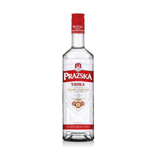 Jedinečná Pražská vodka - ta naše