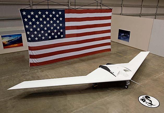 Fanoušek zřejmě vyfotil tajný dron, o kterém se pouze spekulovalo