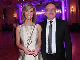 Monika Arenbergerová a její manžel Petr Arenberger (2016)