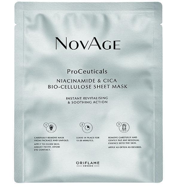 Pleťová maska z biocelulózy, NovAge ProCeuticals, Oriflame