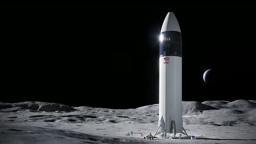 Hvězdné války bohatých. Bezos a Musk se přou o to, kdo vrátí člověka na Měsíc