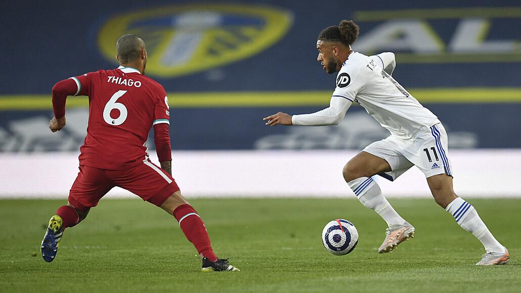 Liverpool promarnil šanci přeskočit West Ham, s Leedsem remizoval