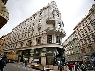 Obchod Bohemia Crystal v Masarykově ulici, kde nakupovaly skleněné skvosty...