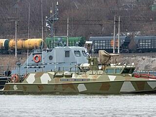 Ruské lodě v přístavu Rostov na Donu u Azovského moře, které je považováno za...