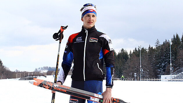 Talentovanı biatlonista Jonáš Mareèek