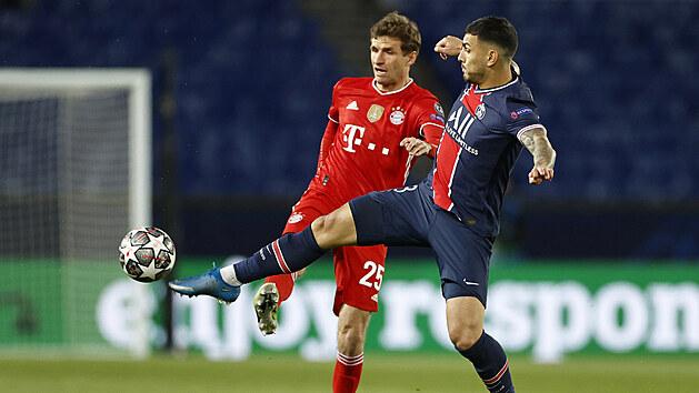 Bayern odvetu vyhrál, ale do čtvrtfinále Ligy mistrů míří PSG