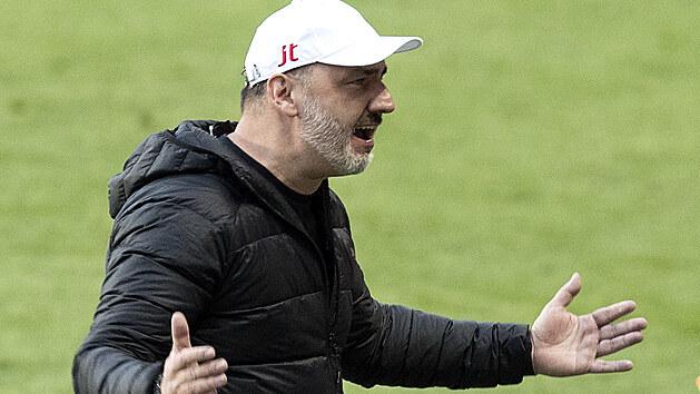 Rozhovor s trenérem Slavie Trpišovským po duelu se Zlínem