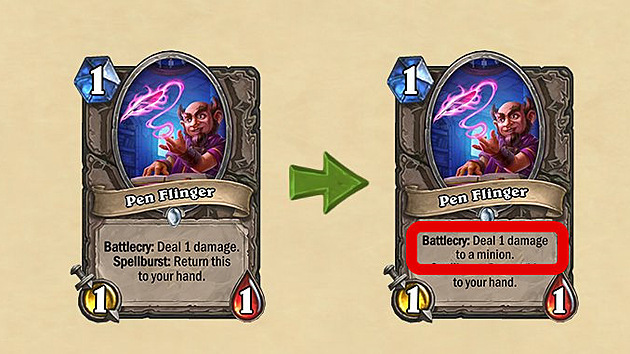 Hearthstone: Forged in the Barrens - balance patch