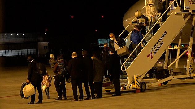 Čeští diplomaté jsou zpět ve vlasti
