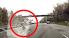 Před nehodou jel motorkář rychlostí přes 200 km/h