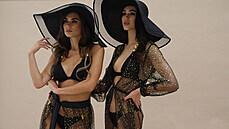 Sexy Missky nafotily ve žhavých pozách kolekci plavek