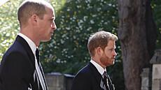Princové William a Harry v důvěrném hovoru