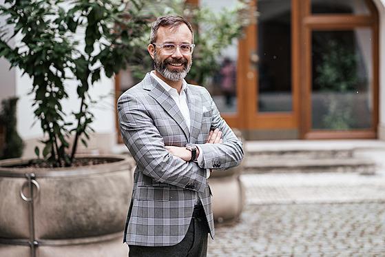 Ředitel Pražské plynárenské Martin Pacovský.