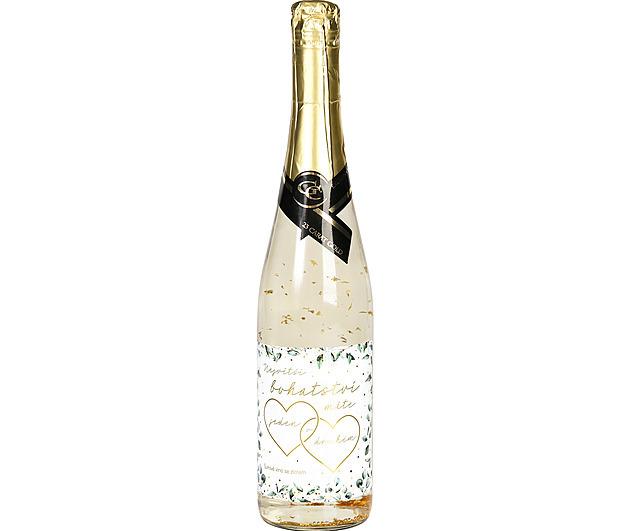 Šumivé víno se zlatem, 404 Kč