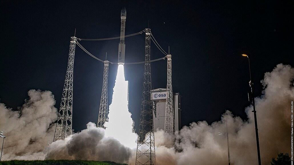 Raketa Vega vynesla satelit na oběžnou dráhu, pomohla i brněnská firma