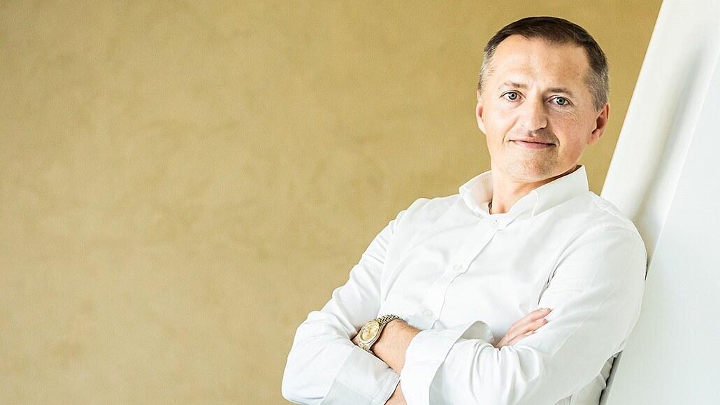 Petr Dědek, majitel HC Dynamo Pardubice.