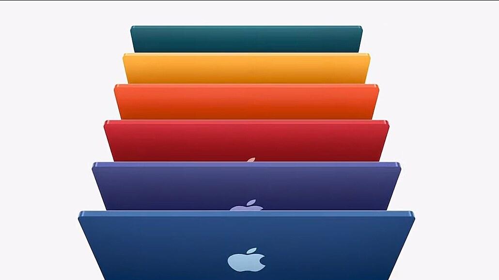 Apple ukázal drahý přívěsek, růžový iMac a iPad s čipem z počítače