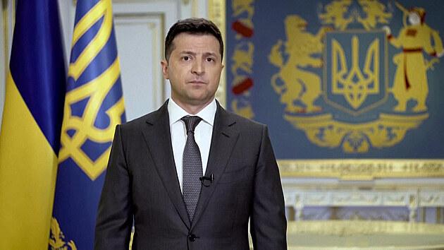 """""""Válku nikdy nezačneme."""" Prezident Zelenskyj pozval Putina na Donbas"""