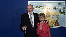 Sean a Micheline Connery
