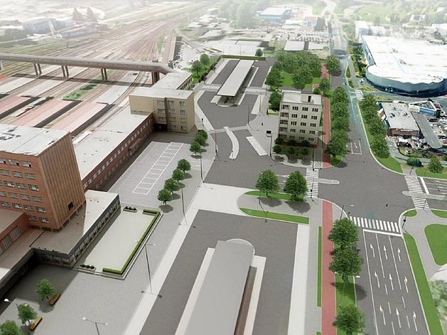 Autobusový terminál bude bez provozní budovy, kus blízké bytovky přesto padne