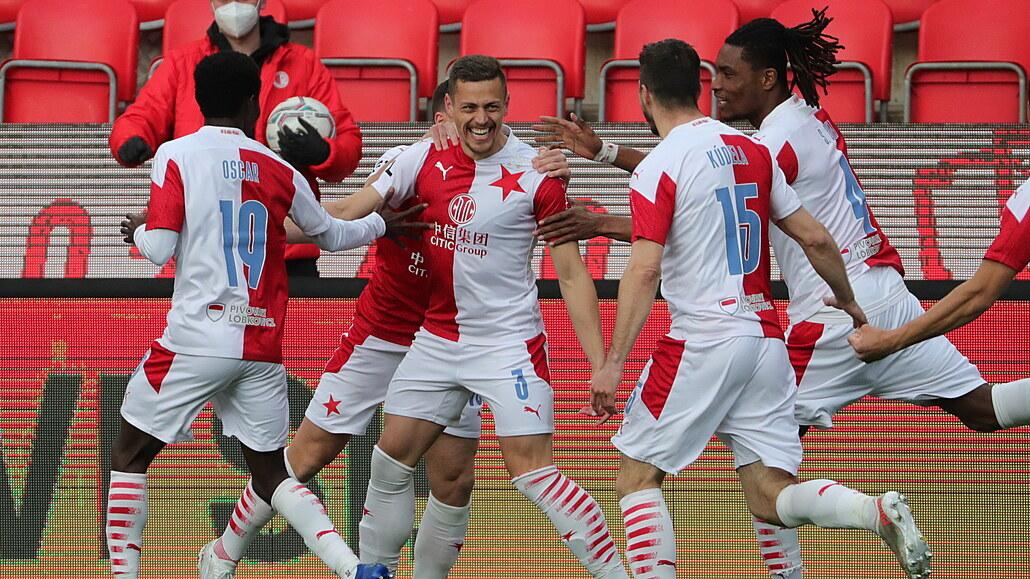 Slavia - Plzeň 5:1, mistrovský výkon, a to mohlo být gólů i víc