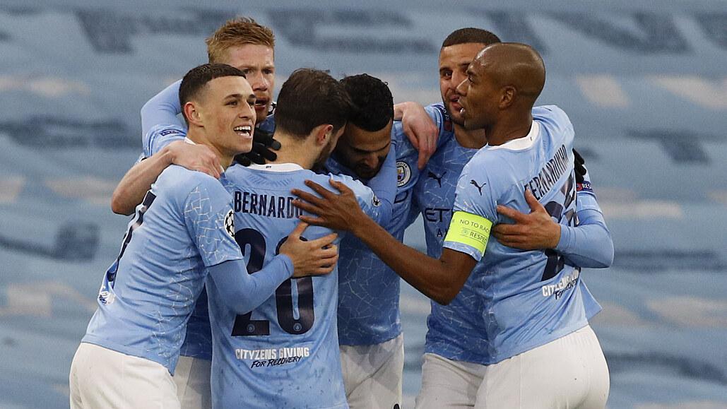 Manchester City - Paris St. Germain 2:0, o historickém postupu rozhodl Mahriz