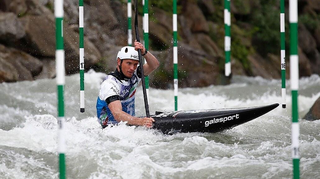 Kajakář Přindiš dojel na Světovém poháru v Markkleebergu šestý