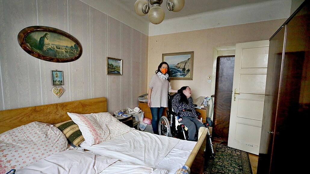 Žena se vrátí do rodného domu, bude z něj oáza pro handicapované