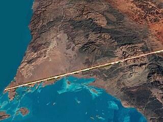 Saúdské město budoucnosti The Line bude mít na délku 170 kilometrů a veškerá...