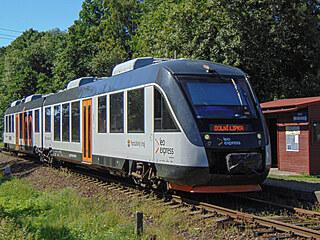 Osobní vlaky z Dolní Lipky končí zcela nesmyslně v zastávce Mlýnický Dvůr, i...