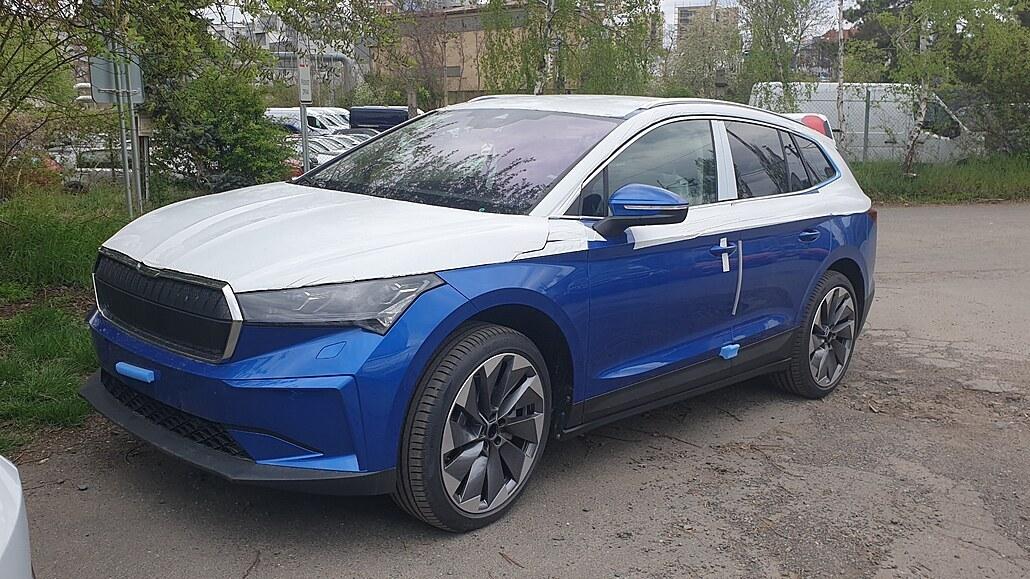 Škoda startuje prodej nového elektromobilu. Enyaq vyráží k nejnedočkavějším