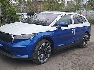 Autosalony Škody zavážejí první kusy elektromobilu Enyaq, který vstupuje do...
