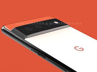 Google Pixel 6 Pro - rendery